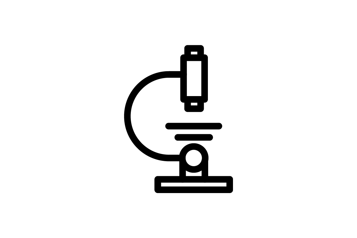 Download Free Microscope Icon Graphic By Ahlangraphic Creative Fabrica for Cricut Explore, Silhouette and other cutting machines.
