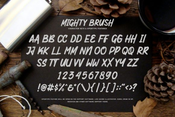 Mighty Brush Font By Garisman Studio Image 8