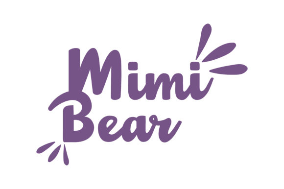 Print on Demand: Mimi Bear Quote SVG Cut Graphic Crafts By TheLucky
