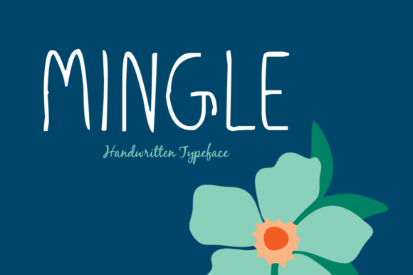 Print on Demand: Mingle Script & Handwritten Font By Shattered Notion