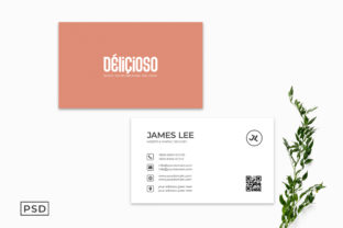 Download Free Minimal Creative Business Card Template Graphic By Creative for Cricut Explore, Silhouette and other cutting machines.