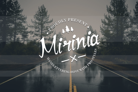 Print on Demand: Mirinia Script & Handwritten Font By EdricStudio