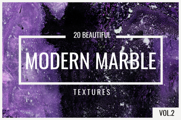 Modern Marble Vol 2 Digital Paper Backgrounds Graphic Textures By 2SUNS