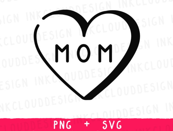 Print on Demand: Mom Mum Mother's Day Graphic Icons By Inkclouddesign