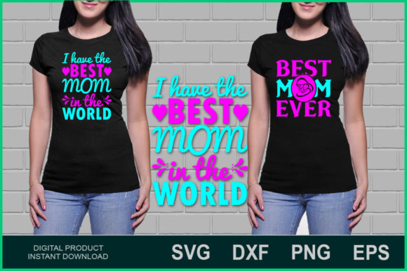 Download Free Mom Bundle Graphic By Aesthetic Studio Creative Fabrica for Cricut Explore, Silhouette and other cutting machines.