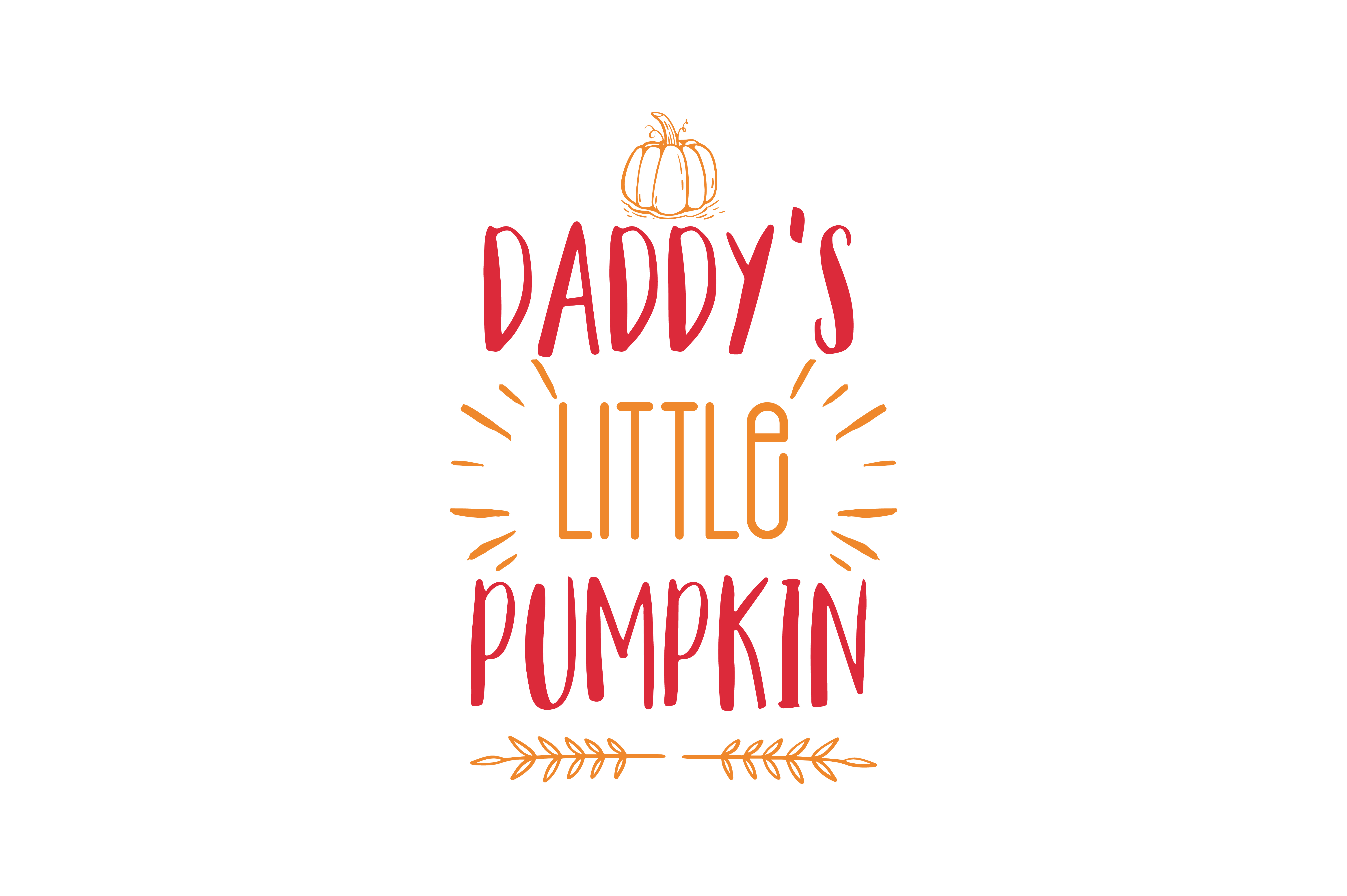 Download Free Mommy S Daddy S Little Pumpkin Quote Svg Cut Graphic By Thelucky for Cricut Explore, Silhouette and other cutting machines.