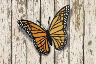 Monarch Butterfly SVG Graphic By RisaRocksIt