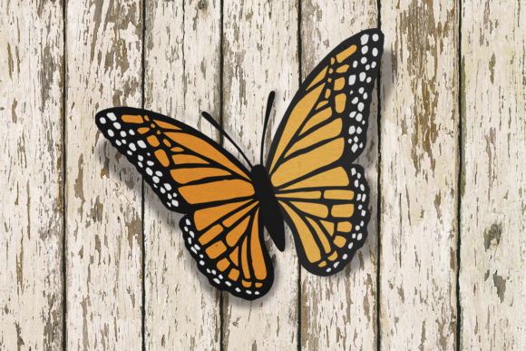 Monarch Butterfly SVG Graphic Crafts By RisaRocksIt
