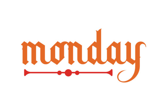 Download Free Monday Quote Svg Cut Graphic By Thelucky Creative Fabrica for Cricut Explore, Silhouette and other cutting machines.
