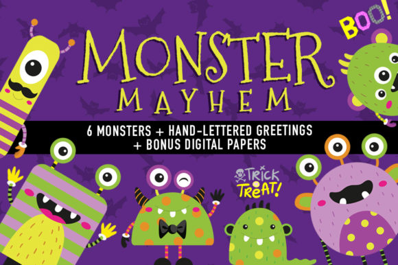 Print on Demand: Monster Mayhem Graphic Illustrations By Reg Silva Art Shop