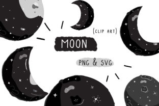 Moon Phase Graphic By Inkclouddesign