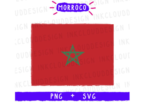 Print on Demand: Morroco Africa Graphic Icons By Inkclouddesign