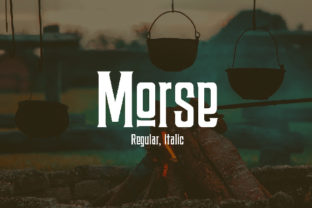 Morse Font By da_only_aan