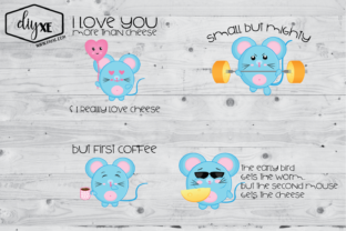 Download Free Mouse Clipart Bundle Graphic By Sheryl Holst Creative Fabrica for Cricut Explore, Silhouette and other cutting machines.