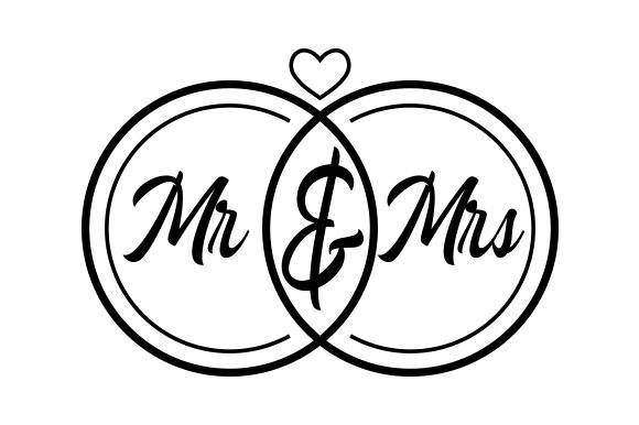 Mr & Mrs Quotes Craft Cut File By Creative Fabrica Crafts