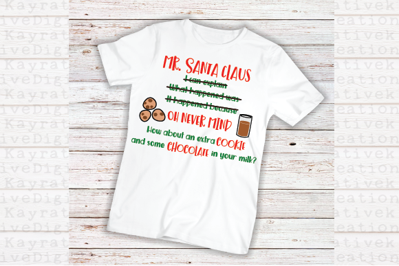Download Free Mr Santa Kids Christmas Shirt Svg Graphic By Kayla Griffin for Cricut Explore, Silhouette and other cutting machines.