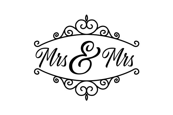 Mrs & Mrs Quotes Craft Cut File By Creative Fabrica Crafts
