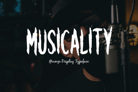 Print on Demand: Musicality Display Font By Instagram Fonts