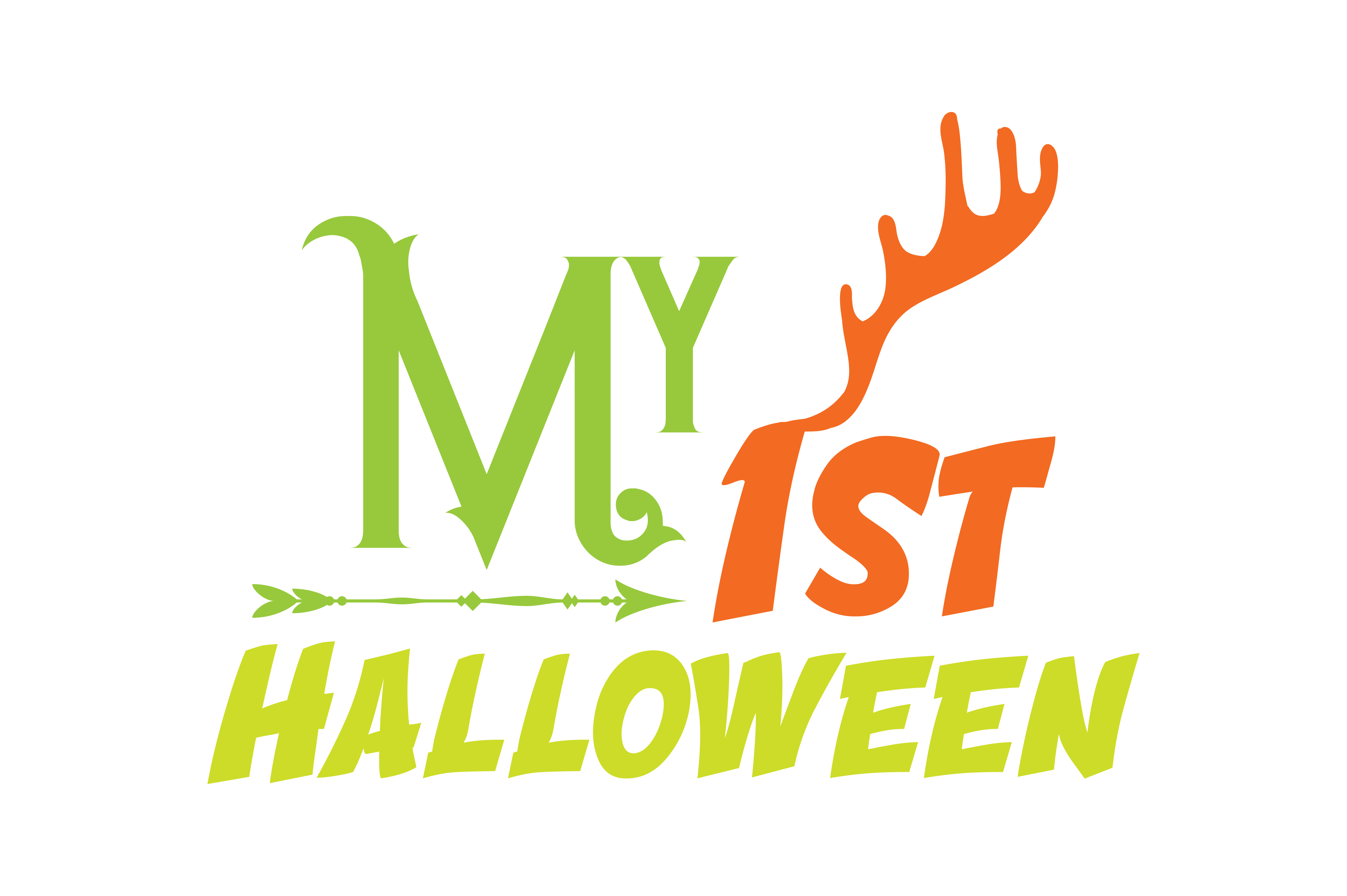 Download Free My 1st Halloween Quote Svg Cut Graphic By Thelucky Creative for Cricut Explore, Silhouette and other cutting machines.