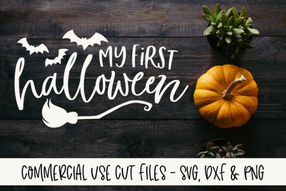 My First Halloween Graphic Crafts By GraceLynnDesigns - Image 1