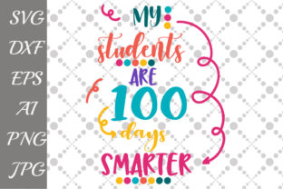 Download Free My Students Survived 100 Days Of Me Svg Graphic By Prettydesignstudio Creative Fabrica for Cricut Explore, Silhouette and other cutting machines.