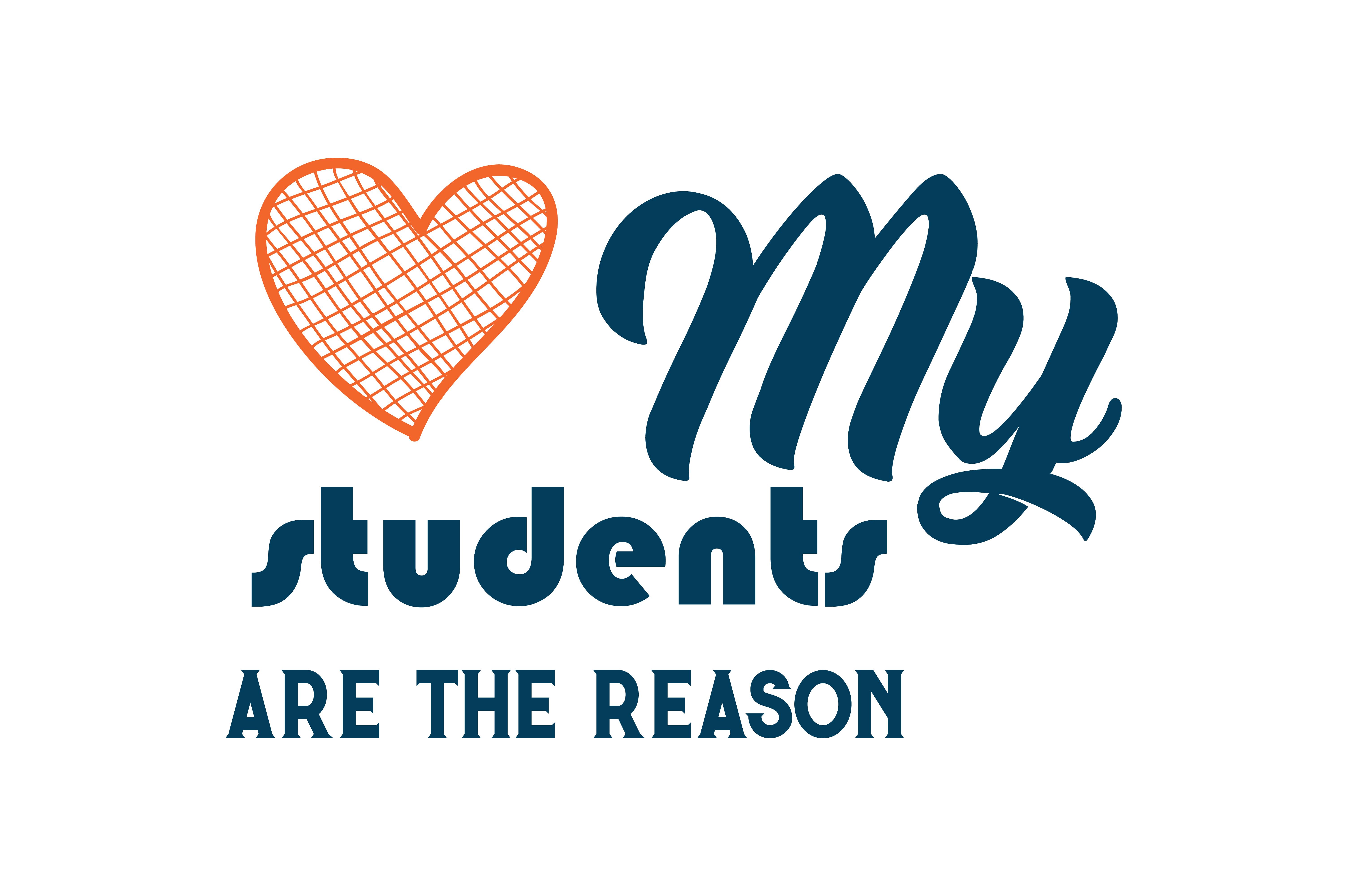 Download Free My Students Are The Reason Quote Svg Cut Graphic By Thelucky for Cricut Explore, Silhouette and other cutting machines.