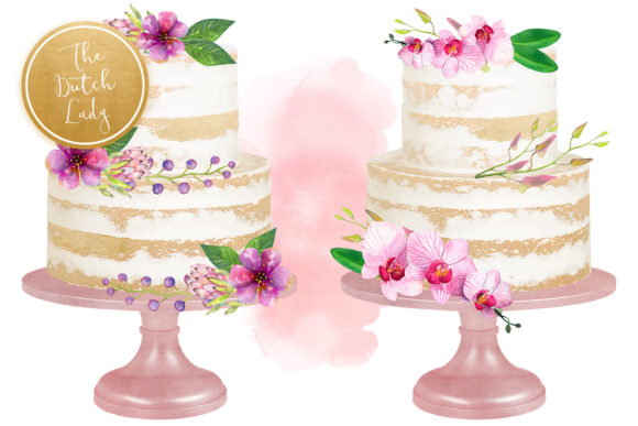 Download Free Naked Layered Wedding Cake Clipart Grafik Von Daphnepopuliers Creative Fabrica for Cricut Explore, Silhouette and other cutting machines.