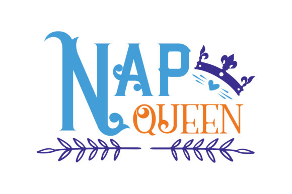Print on Demand: Nap Queen Quote SVG Cut Graphic Crafts By TheLucky