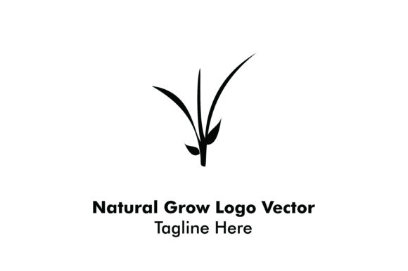 Download Free Natural Grow Logo Graphic By Yuhana Purwanti Creative Fabrica for Cricut Explore, Silhouette and other cutting machines.