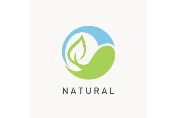 Download Free Nature Logo Template Graphic By Zaenal Abidin4133 Creative Fabrica for Cricut Explore, Silhouette and other cutting machines.