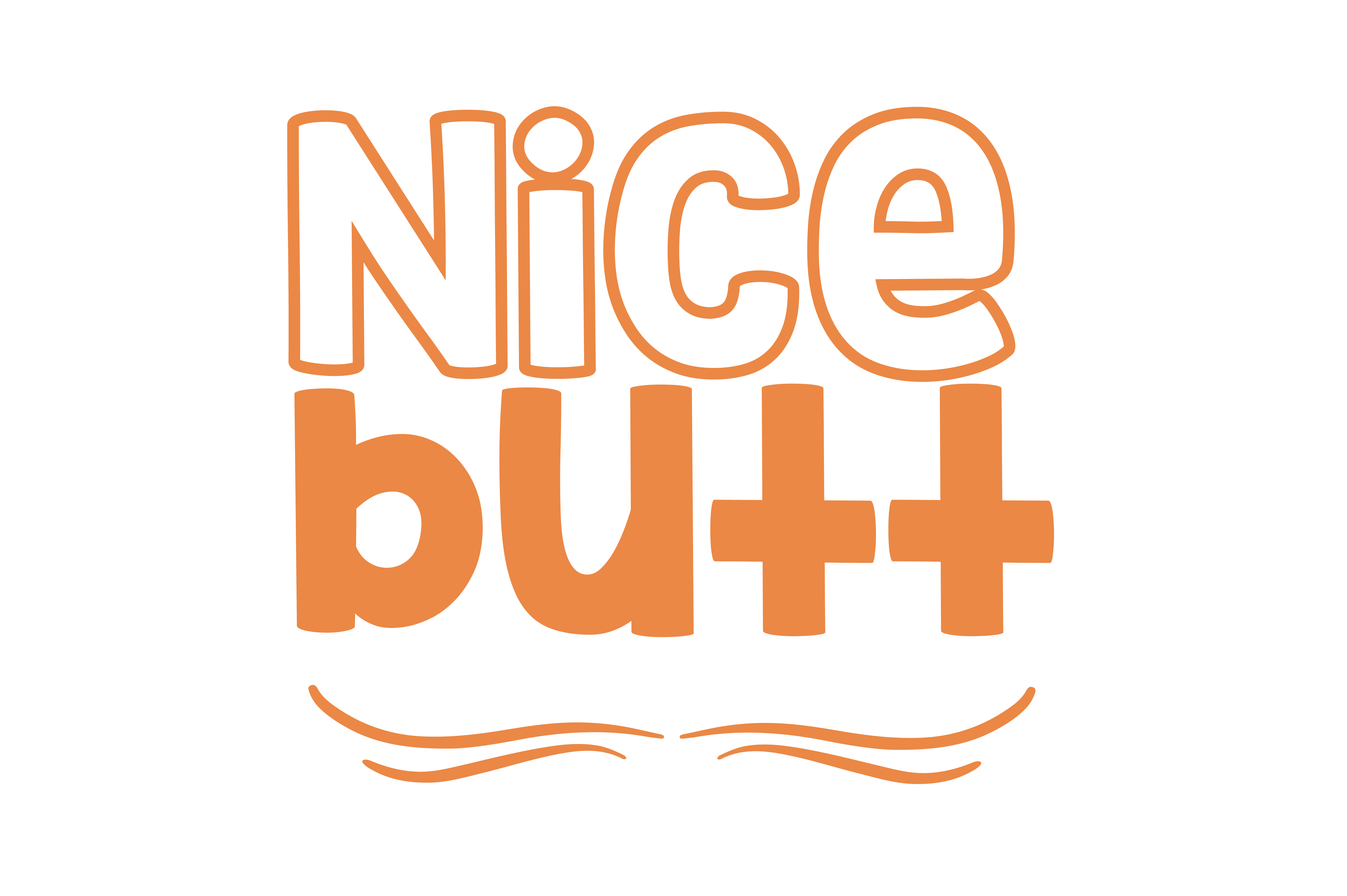 Download Free Nice Butt Quote Svg Cut Graphic By Thelucky Creative Fabrica for Cricut Explore, Silhouette and other cutting machines.