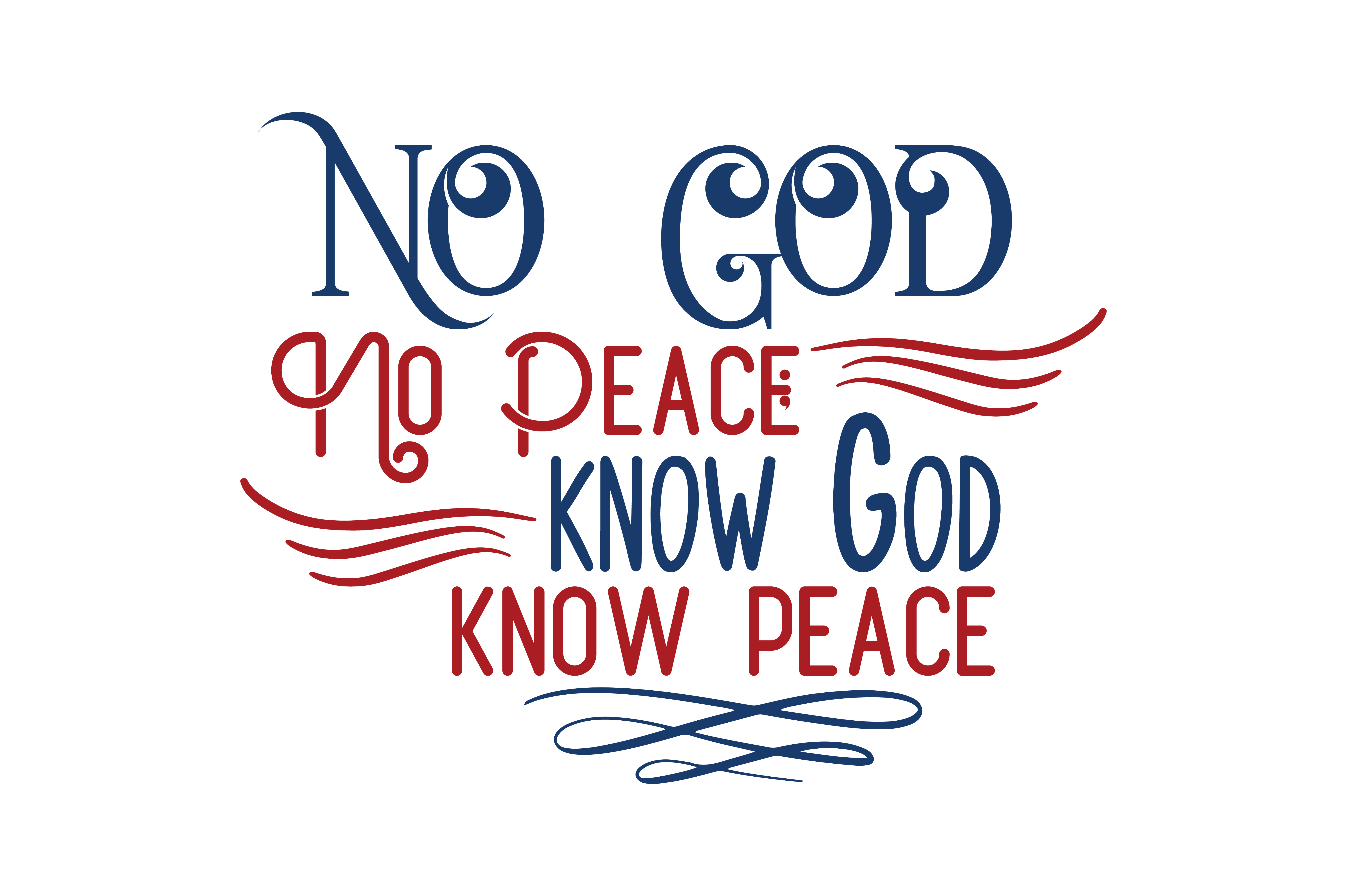 Download Free No God No Peace Know God Know Peace Quote Svg Cut Graphic By for Cricut Explore, Silhouette and other cutting machines.