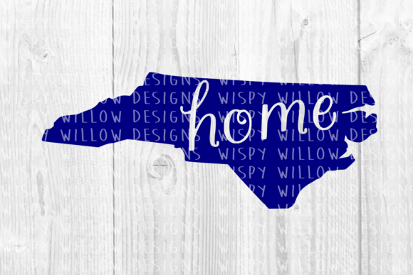 Download Free North Carolina Nc Home Svg Graphic By Wispywillowdesigns for Cricut Explore, Silhouette and other cutting machines.
