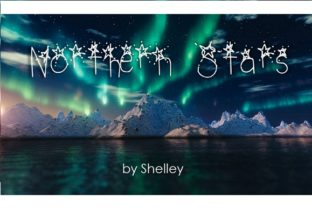 Northern Stars Font By Shelley