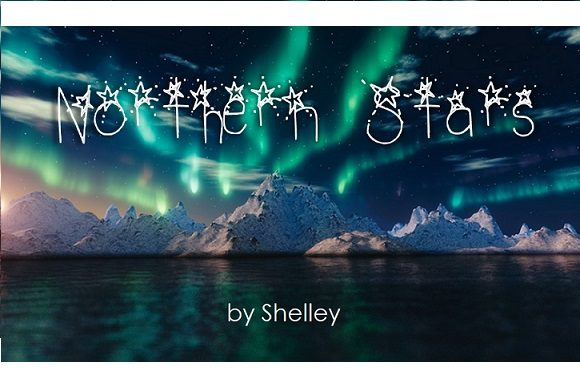 Print on Demand: Northern Stars Decorative Font By Shelley