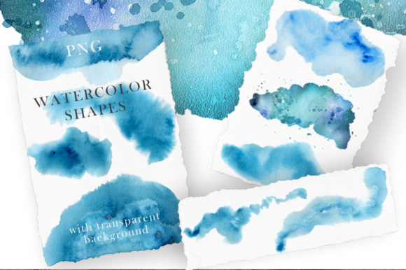 Ocean Watercolor Collection Graphic Illustrations By EvgeniiasArt - Image 11