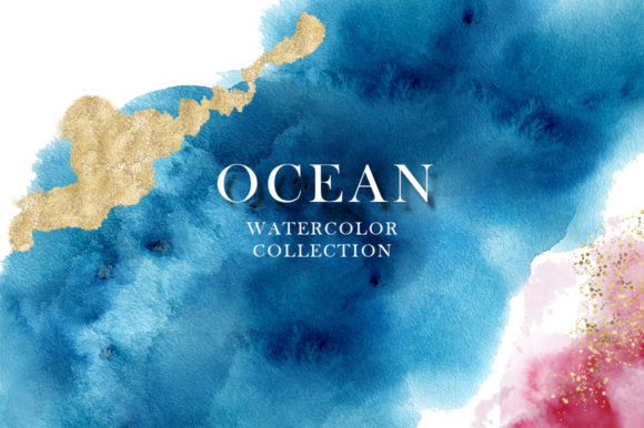 Ocean Watercolor Collection Graphic Illustrations By EvgeniiasArt - Image 15
