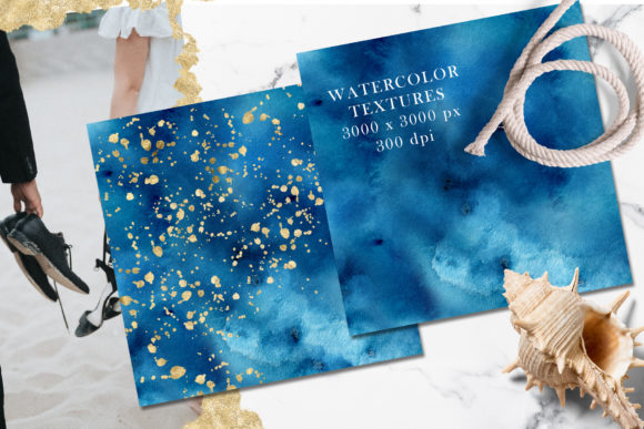 Ocean Wedding Invitations Suit Graphic Print Templates By EvgeniiasArt - Image 4