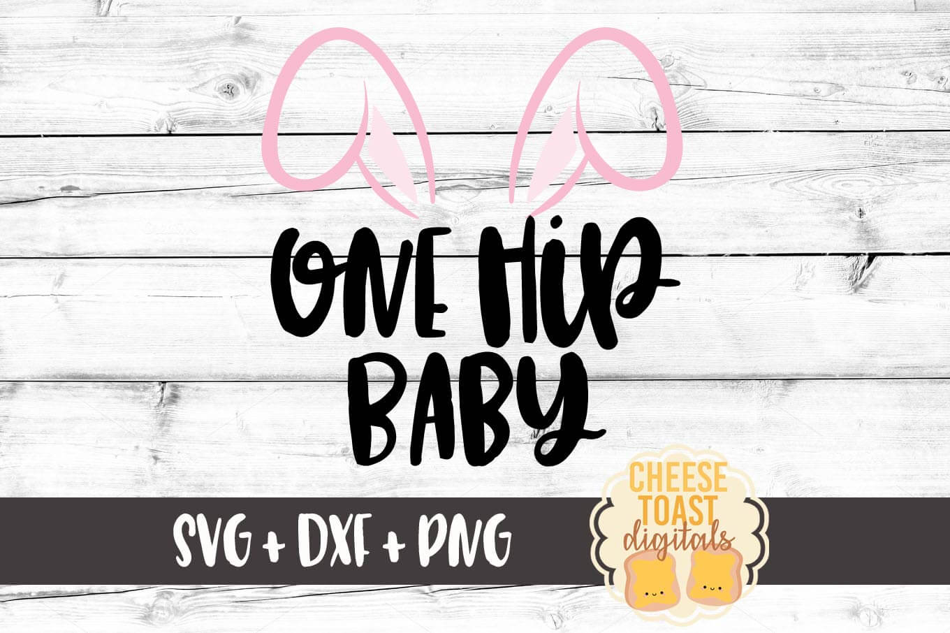 Download Free One Hip Baby Easter Svg Graphic By Cheesetoastdigitals for Cricut Explore, Silhouette and other cutting machines.