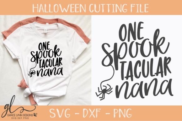 One SpookTacular Nana Graphic By GraceLynnDesigns Image 1
