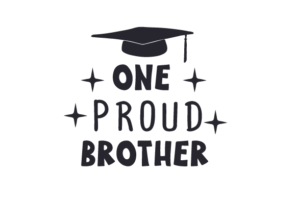 Download Free One Proud Brother Archivos De Corte Svg Por Creative Fabrica for Cricut Explore, Silhouette and other cutting machines.