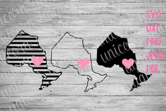 Download Free Ontario Canada Province Svg Graphic By Unicorn Imaging for Cricut Explore, Silhouette and other cutting machines.