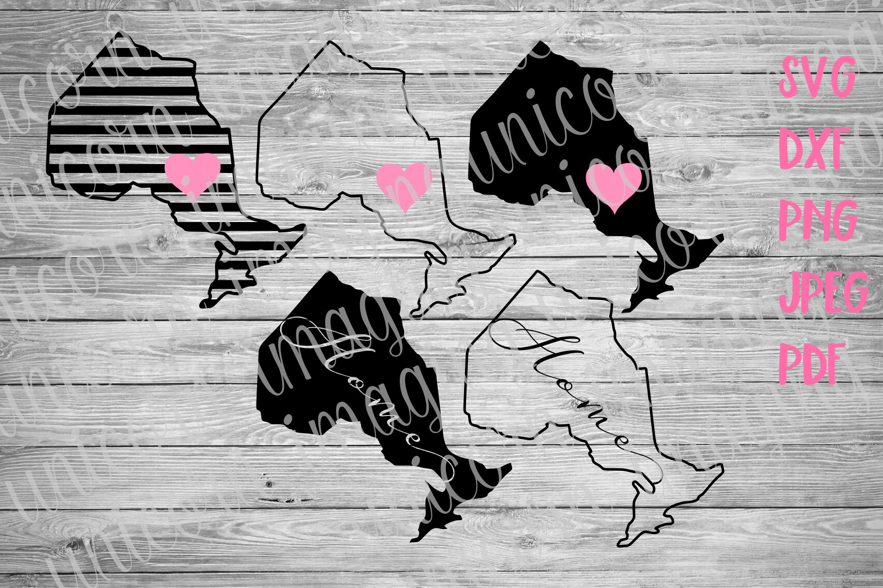 Ontario Canada Province Svg Graphic By Unicorn Imaging