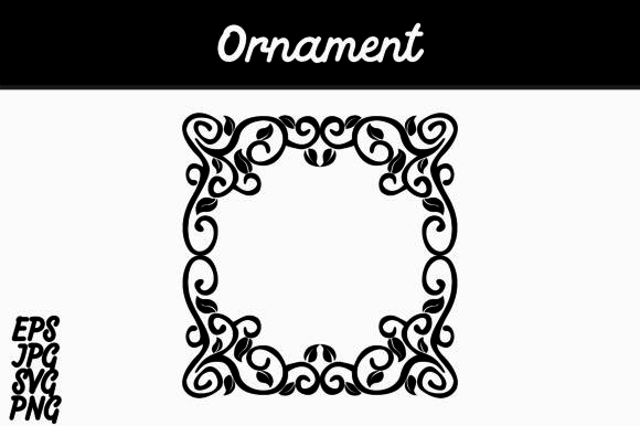 Download Free Ornament Graphic By Arief Sapta Adjie Creative Fabrica for Cricut Explore, Silhouette and other cutting machines.