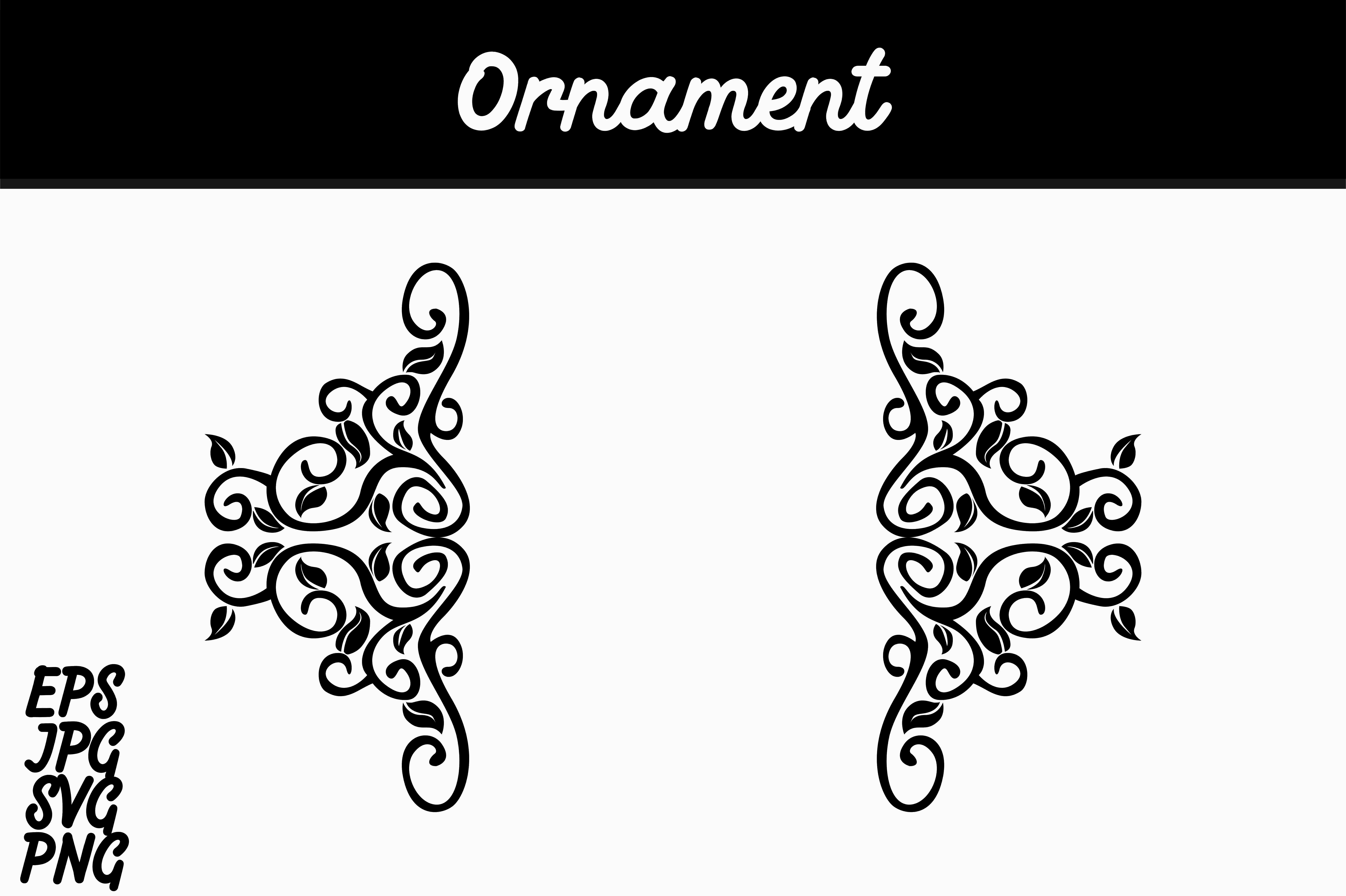 Download Free Ornament Svg Vector Image Graphic By Arief Sapta Adjie for Cricut Explore, Silhouette and other cutting machines.