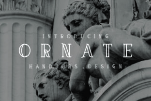 Ornate Font By Hdjs.design