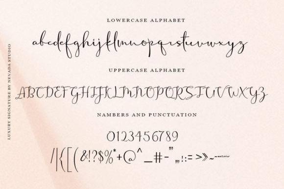 Print on Demand: Osella Estin Script & Handwritten Font By Aqeela Studio - Image 6