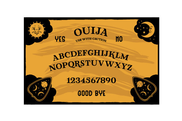 Ouija Board Svg Cut File By Creative Fabrica Crafts Creative