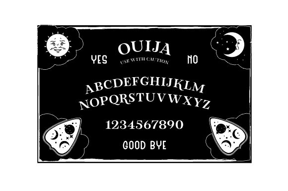 Download Free Ouija Board Svg Cut File By Creative Fabrica Crafts Creative for Cricut Explore, Silhouette and other cutting machines.