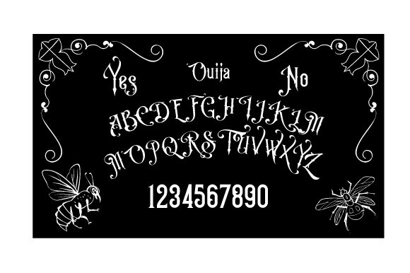 Download Free Ouija Board Silhouette Svg Cut File By Creative Fabrica Crafts for Cricut Explore, Silhouette and other cutting machines.